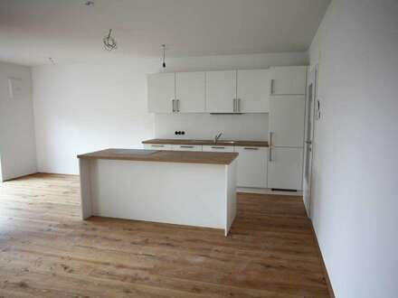 Dachgeschosswohnung inkl. Einbauküche mit Loggia - ERSTBEZUG