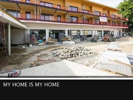 LAUFEN I Neubauwohnungen - großzügig, stilvoll und nachhaltig I 2-Zimmer Wohnung I Top 8