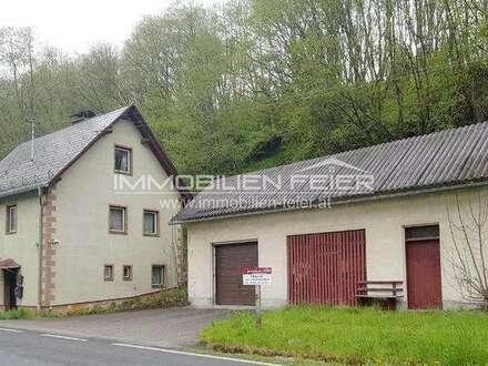 Sanierungsbedürftiges Wohnhaus im Erholungsgebiet Murtal!
