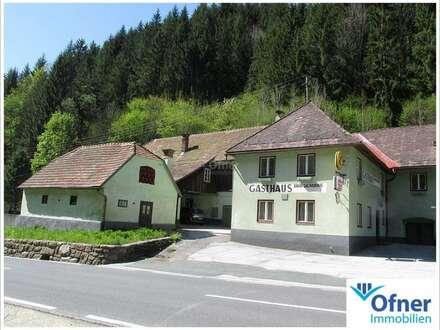 Kleinlandwirtschaft - ehemaliges Gasthaus