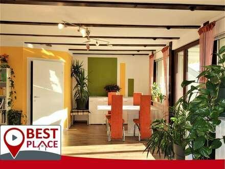 Sportsfreund-du willst hoch hinaus? MAISONETTE-Wohnung mit mit Süd-Terrasse und Panoramablick in zentraler Lage
