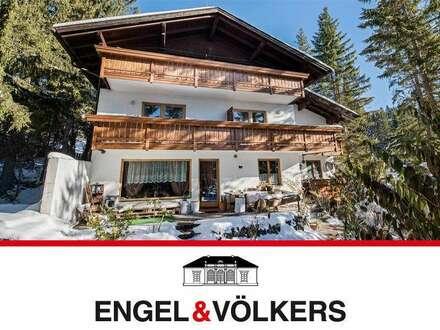 Apartmenthaus mit bestem Bergblick