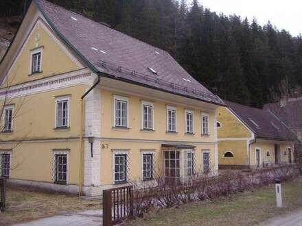 Stilechtes Biedermeierhaus/Herrenhaus im Mariazellerland!