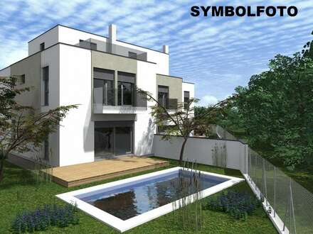 SWIMMINGPOOL im Garten und 40 m² Dachterrasse! Nutzfläche 232 m² - Planen Sie Ihren Wunschgrundriss mit!