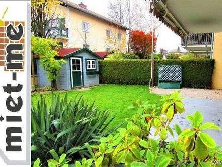 - miet-me - Familien-HIT! Ruhige Gartenwohnung mit Blick auf den Untersberg