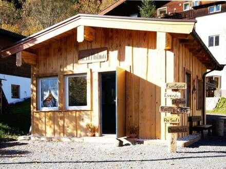 Holzhütte im Gewerbegebiet ( GW801205 )