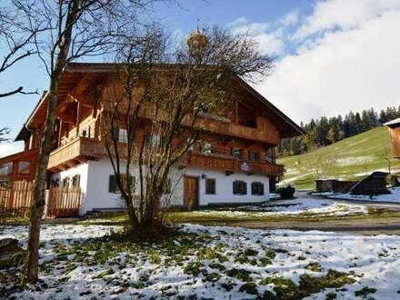 Urgemütliches Bauernhaus nahe Kitzbühel