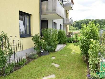 Neubau! Exklusive Wohnung mit Garten - Sonnenlage