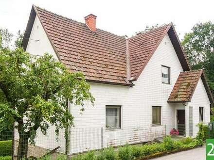 Einfamilienhaus mit schönem Garten in Zentrumsnähe