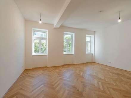 ++NEU** Großzügiger 1-Zimmer Altbau-ERSTBEZUG mit Balkon, Apartmentvermietung zulässig!
