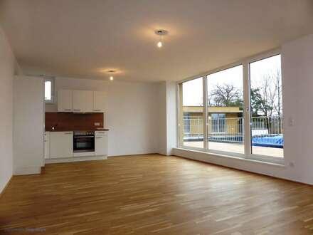 MIETE NEUBAU/ERSTBEZUG LIEFERING - Saalachstraße 86: Schöne 78 m² 3 Zimmer-Penthaus/Dachgeschoss-Wohnung mit 24 m² Süd-Terrasse…