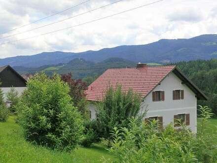 Eibiswald: Provision wird vom Verkäufer übernommen! Einfamilienhaus mit Nebengebäude in wunderschöner, erhöhter, ruhiger…