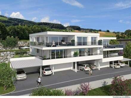 Erstbezug! – Luxuswohnung mit großer Terrasse und schönem See- und