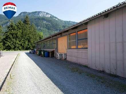 Werkstatt in bester Lage - zusätzliches Aussenlager verfügbar (ca. 500m²)