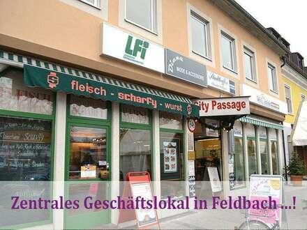 Zentrales Geschäftslokal in Feldbach ...!