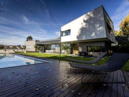 Graz - Waltendorf: Außergewöhnliche Neubauvilla in erhöhter Aussichtslage | Graz preferred location: Stunning fresh villa…