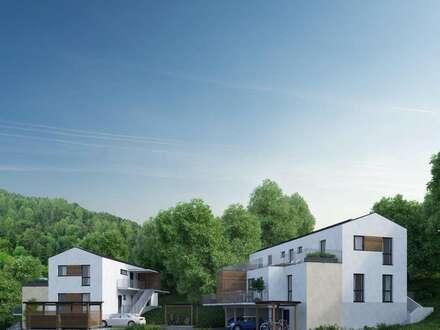 Traumhaftes Penthouse in kleiner Appartementanlage mit Lift und ca. 80 m² Dachterrasse in Graz-Ragnitz!