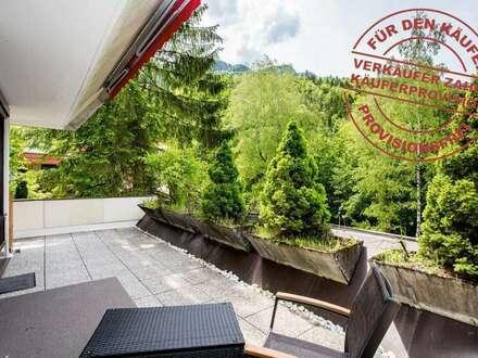 PROVISIONSFREI! Familienwohnung mit 27m² Sonnenterrasse!