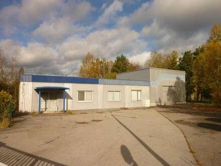 Lager- und Produktionshalle in Gmünd