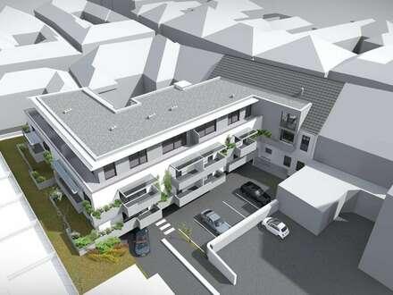 Provisionsfreier Erstbezug:Geförderte 3- Zimmer Gartenwohnung in der Innenstadt mit 2 Garagenstellplätze und mit Miete-Kaufoption