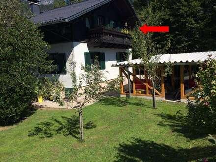 """Glück zu zweit, zu dritt, zu viert"" - Wohnung / Garten. Carports / Balkon."