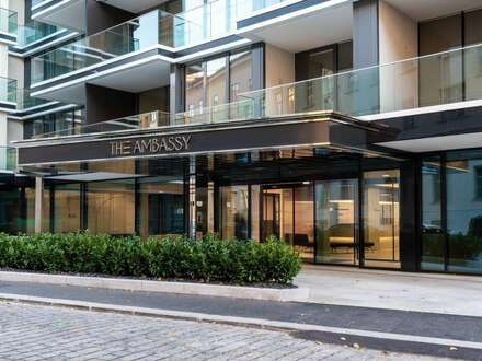 THE AMBASSY am Stadtpark: Erstbezug mit Balkon für anspruchsvolle Diplomaten und Expats - Conciergeservice inklusive ! LIVE-VIDEO…