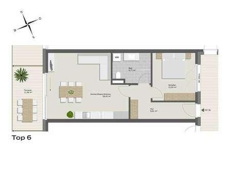 Exklusive 2-Zimmerwohnung zur Miete!