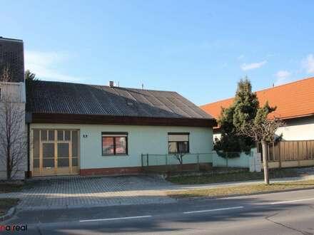 Gemütliches Landdomizil - kleines Haus mit Ausbaupotential, uneinsichtigem Innenhof und großem Stadl mit West-/Gartenausrichtung