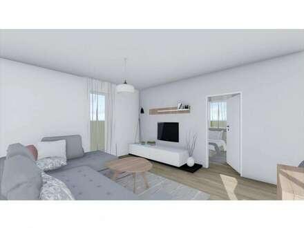 Vier-Zimmer-Obergeschosswohnung mit großer Dachterrasse