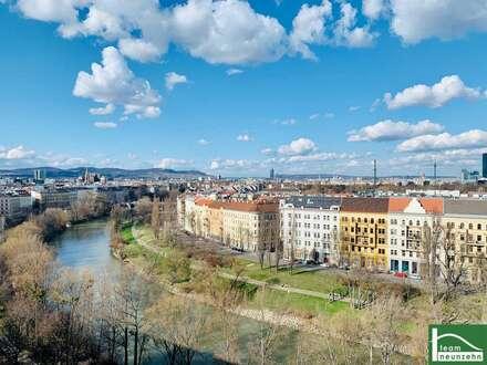 ATEMBERAUBENDER WEITBLICK - Helle 4 Zimmerwohnung mit Balkon & Dachterrasse - Voll möblierte Küche - AB SOFORT VERFÜGBAR…