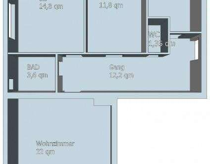 3 Zimmer Wohnung mit tollem Stadtblick im Zentrum von Hartberg