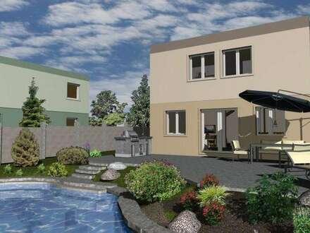 Bad Vöslau, 15 Baumeisterhäuser in Ziegelmassivbauweise, noch 4 Bauplätze verfügbar