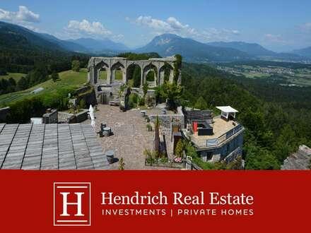 Einzigartiges Burgareal mit Panoramablick und großem Potenzial