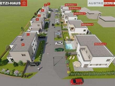 Desselbrunn: Moderne Doppelhäuser inkl. Grund ab € 286.900,-