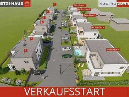 Desselbrunn: Moderne Doppelhäuser inkl. Grund ab € 243.490,-