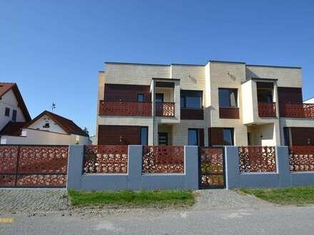 Einfamilienhaus in gekuppelter Bauweise