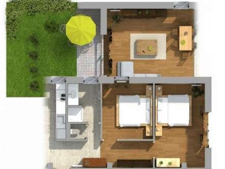 Wohnung mit eigenem Garten und Seeblick am Faaker See! TOP 8.