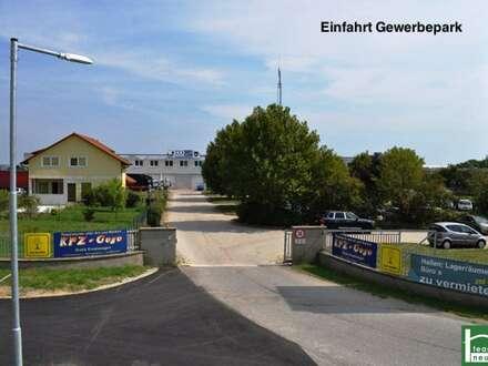 GEWERBEPARK DONNERSKIRCHEN - Werkstatt, Lager, Büro, Geschäft! 10m² - 1500m²! Ab 25€ Netto/Monat