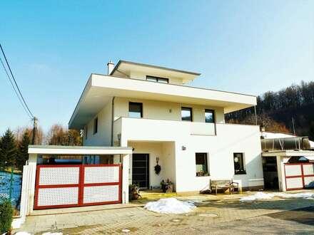 Exklusives Einfamilienhaus! 290m² Wfl. + 1400m² Gartenfäche! Modernes Famillienidyll mitten im Grünen und doch nicht weit…