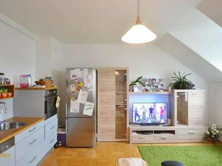 helle Dachgeschosswohnung mit Loggia, 3 Schlafzimmer