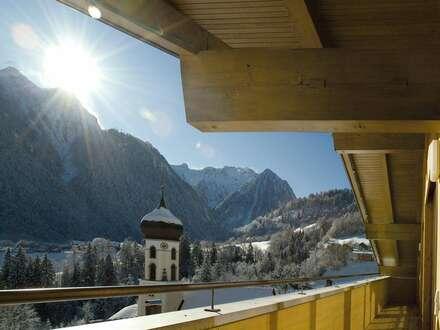 Feriendomizil im sonnigen Bradnertal: 2-Schlafzimmer Apartment mit großer Aussichtsterrasse