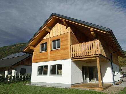 Neubau Vollholz-Chalet in St. Michael im Lungau