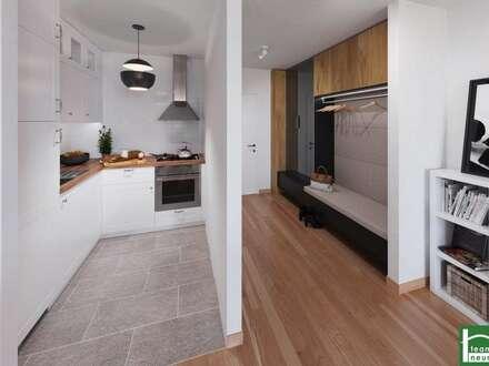 !Eden 13- Großartige Wohnung - Genießen Sie Ihren Morgenkaffee am sonnigen Balkon! Nur 9 min zur U4! Rohbau fertiggestellt!