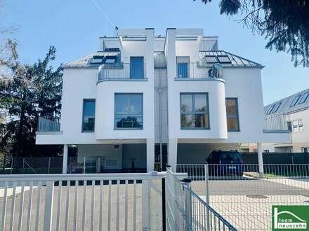 NÄHE MÜHLWASSER! Moderner 45 m2 Neubau mit 5 m2 Terrasse, 2 Zimmer, Komplettküche, Fußbodenheizung! ERSTBEZUG!