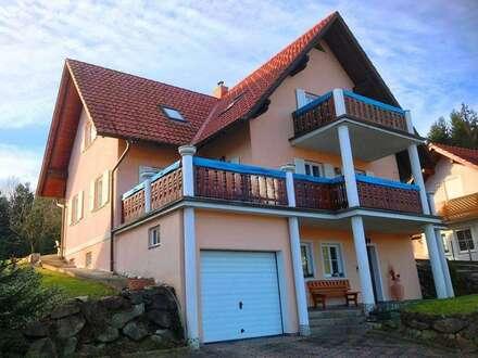 Eibiswald: top gepflegtes Ein- Zweifamilienhaus in sonniger, erhöhter Aussichtslage