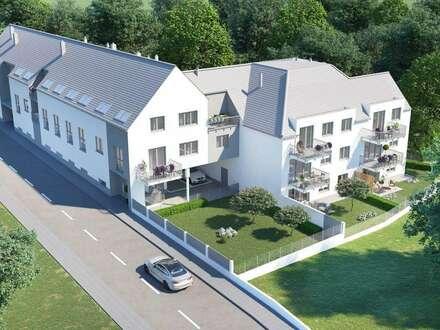 NEUBAUPROJEKT - Wohnungen zwischen 50 m² und 125 m² - TRAISKIRCHEN ZENTRUM