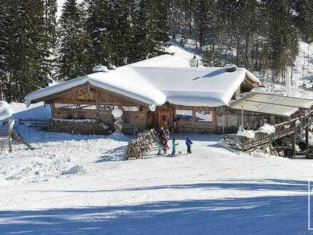 Skihütte in der Salzburger Ski amade´