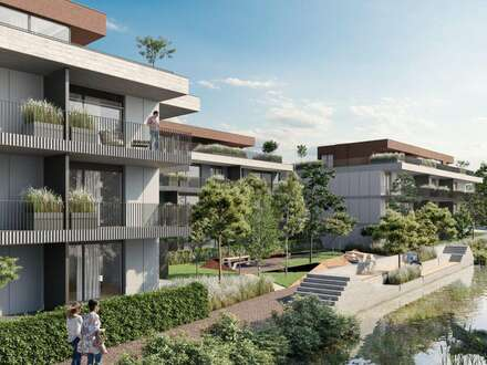 BEL AIR Premium Garden Suites - Optimale Familienwohnung mit 4-Zimmer und großem Balkon - 4.440,-/m²