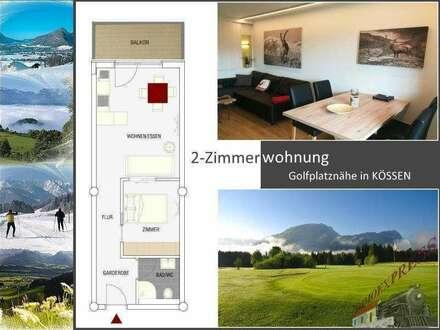 Vollmöblierte hochwertige 2-Zimmerwohnung am Golfplatz