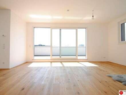 Mietwohnung Schwechat - 2 Zimmer Penthouse mit 30 m² großer Terrasse am Alanovaplatz 2